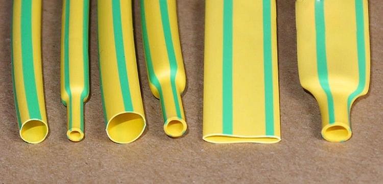 High Quality Yellow Green Heat Shrink Tube
