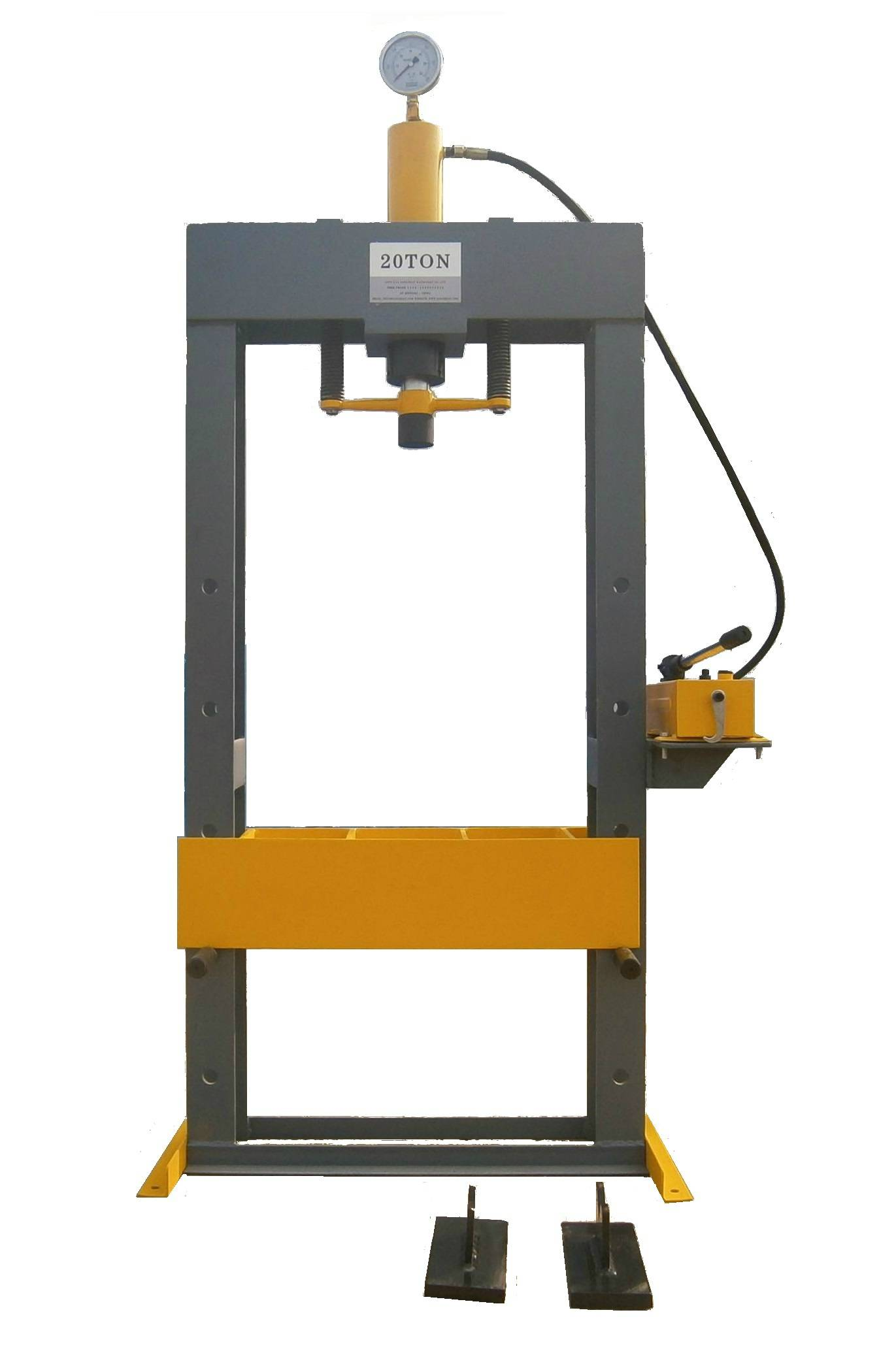 H Frame Manual Hydraulic Press Machine 20ton 30ton 50ton 100ton