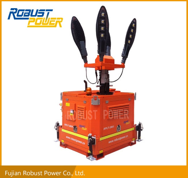 4120W Outdoor Diesel Engine Light Tower(RPLT-2800)