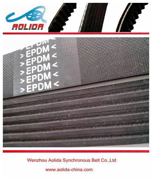 EPDM 6PK1425 High Quality Serpentine Belt Auxillary Drive Poly V Belt V-Ribbed Belt for Ford Renault