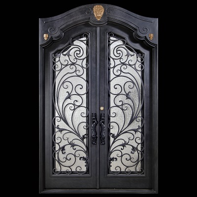 best quality wrought iron interior door