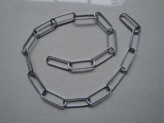 Weldless fixture chain