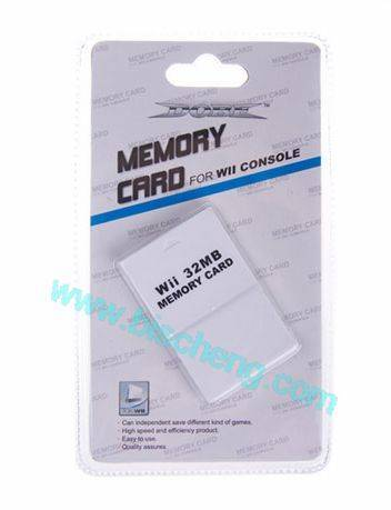 WII 32MB memory card