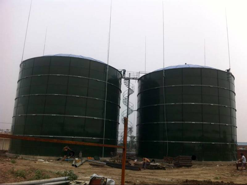 High corrosion fire water storage tank with low project cost