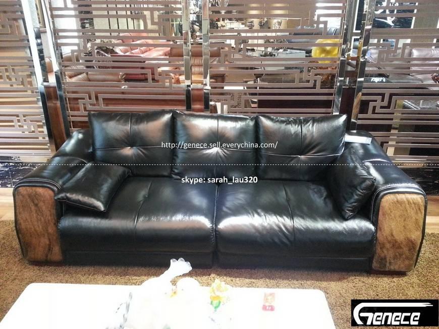 Cow Leather Sofa Set BT3021#