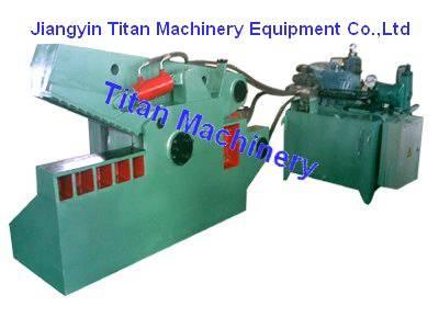Q43-2000 hydraulic scrap metal alligator shear machine