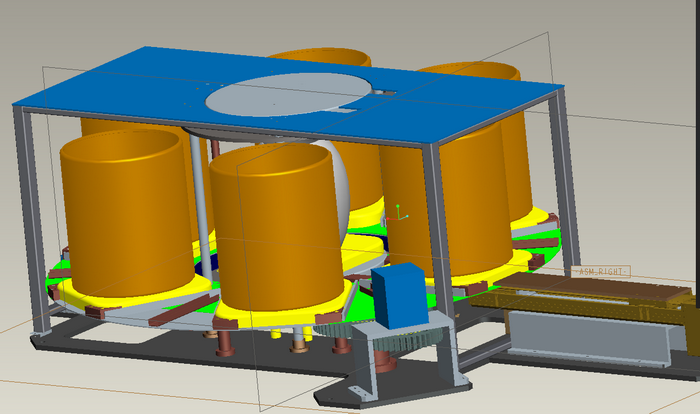display product rotating equipment