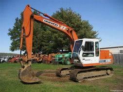 Used Daewoo DH130 Excavator