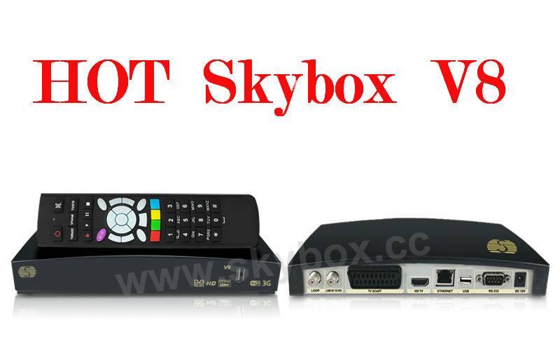Original Skybox V8 1080p Full HD Digital Satellite Receiver/ TV Box