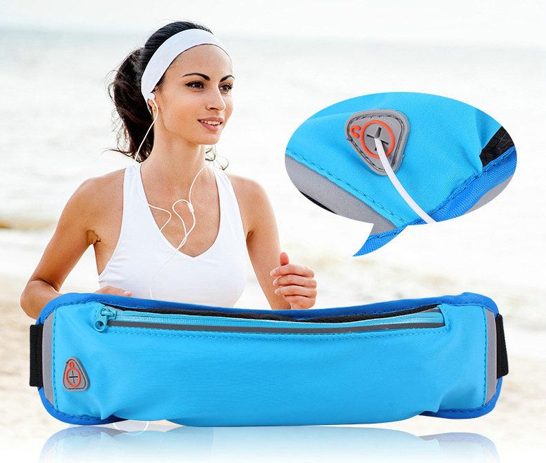 New invisible cute mini equipment ultra-light men's versatile running sport mobile phone Waist Bag