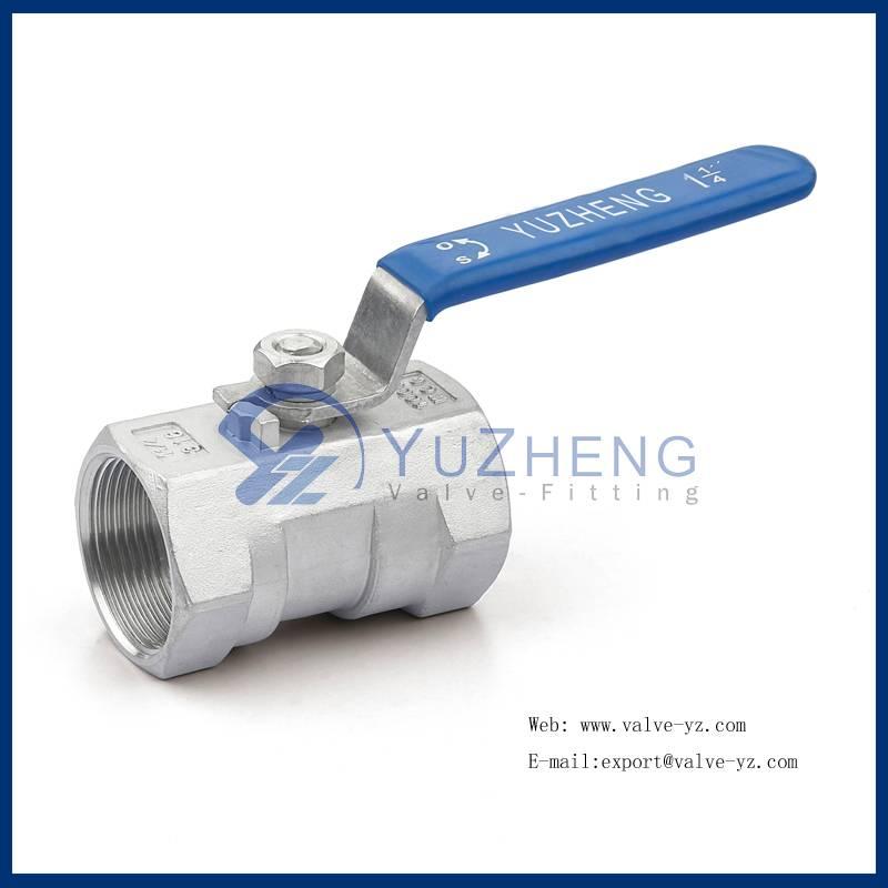 1PC Stainless Steel Thread ball valve