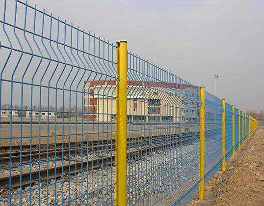 high quantity wire mesh fencing/railway wire mesh fencing