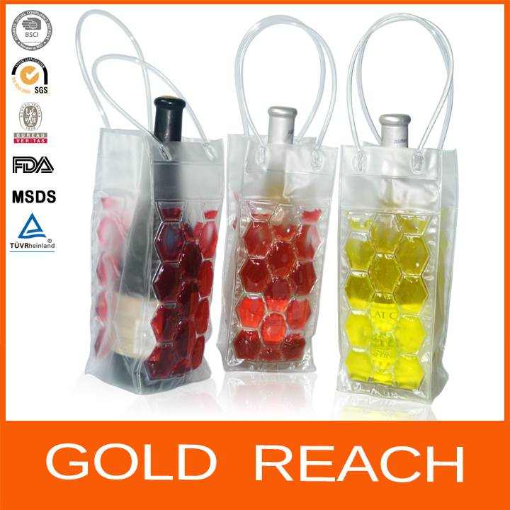 PVC Wine Cooler Bag/Wholesale Wine Cooler Bag