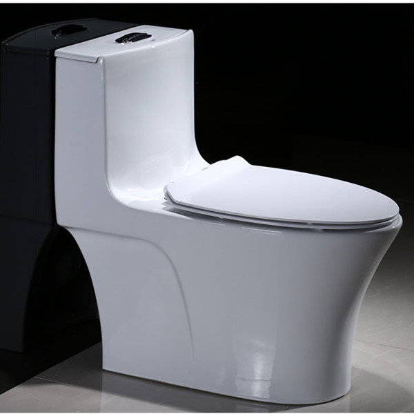 Chinese wholesale ceramic one piece siphonic toilet