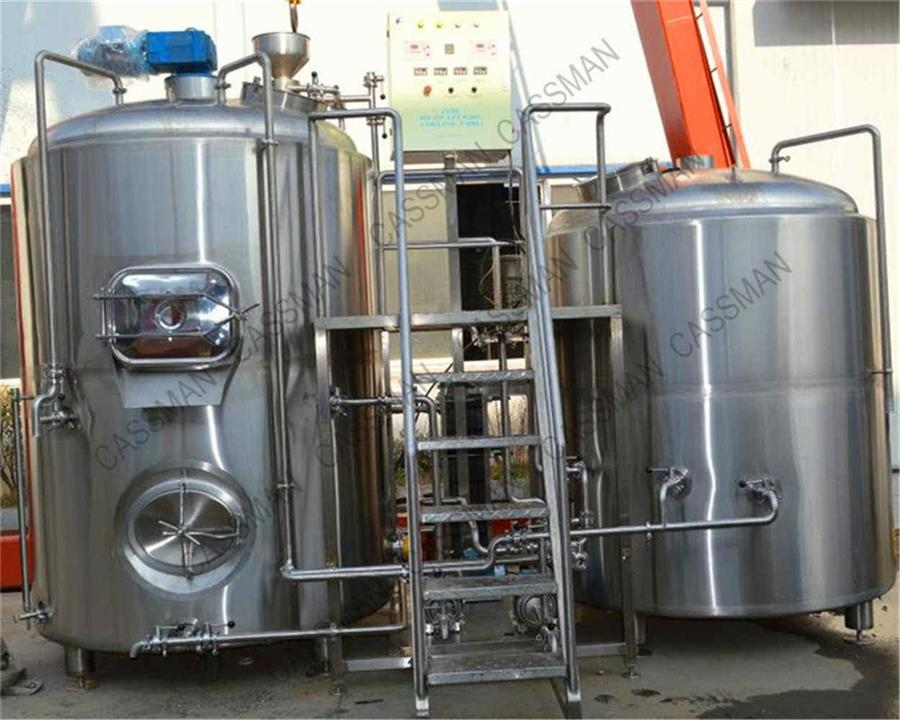 beer brewing mini plant