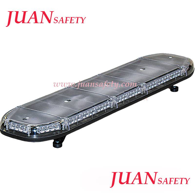 E-mark lightbar with high power leds and roof mounting flashing light bar TBD2130