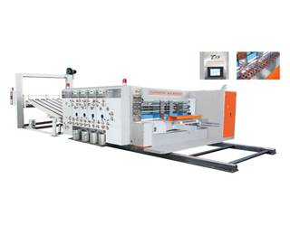 printing slotting and die-cutting machine