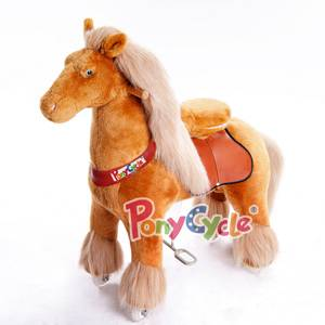 PonyCycle Exercising Ride On Horse for Children 4 to 9 Years Old or Up to 90 Pounds - MEDIUM SIZE PO