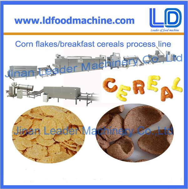 Stainless steel maize flakes machinery factory price