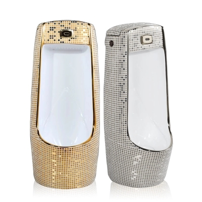 Competitive price golden color standing urinal for male
