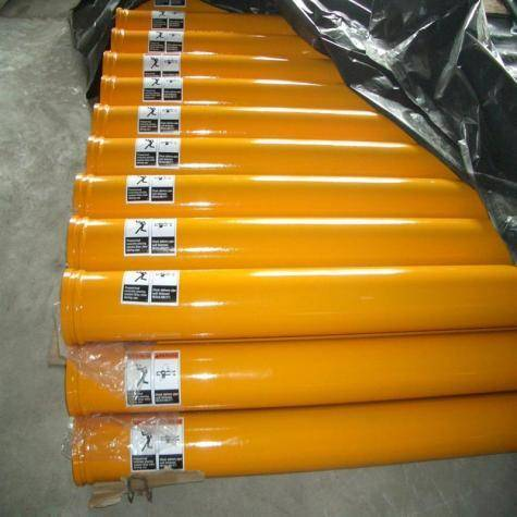 ST Concrete Pump Seam Pipe With 148mm Flange