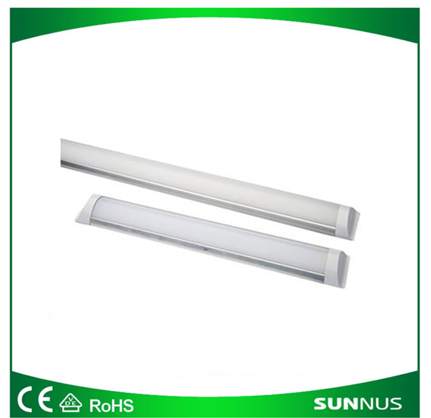 LED 9W/18W/27W/36W/45W tube lights with long lifespan, replacement for fluorescent