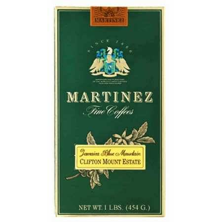 J Martinez Jamaica Blue Mountain Medium Roast