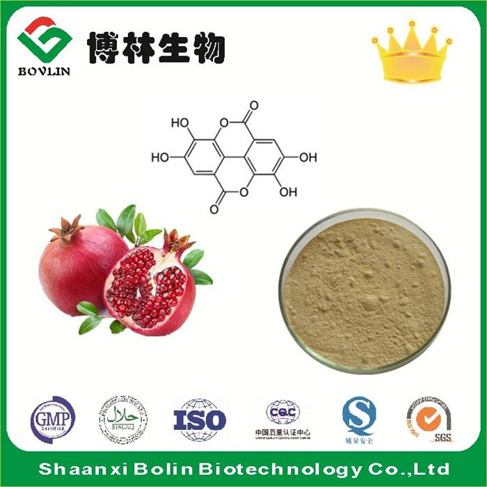 Natural Pomegranate Peel Extract Powder Ellagic Acid Food Grade