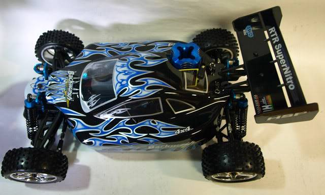 HSP NITRO 2 SPEED 1:10 RACE BUGGY RC 4WD CAR