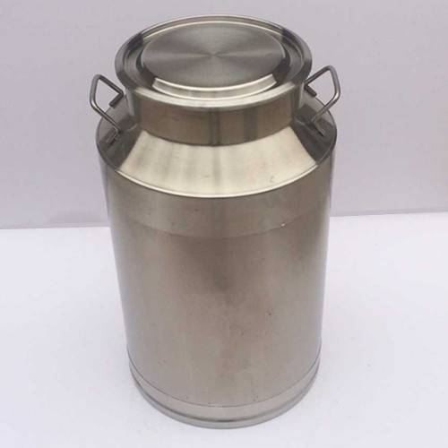 Stainless steel milk drum water barrel
