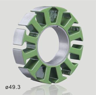 Customized Brushless DC motor stator and rotor core with high quality laminated silicon steel 0.2/0.