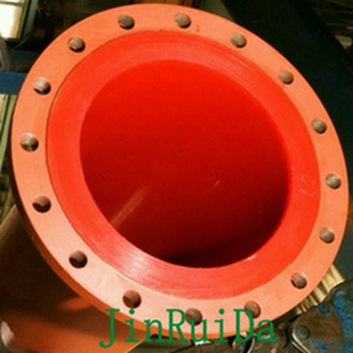 Wear Resistant Polyurethane Lined Steel Pipe line Fitting