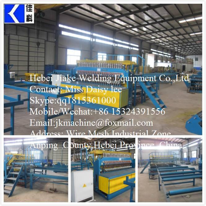 Ribbed Steel Wire Mesh Welded Machines JK-RM-2500B