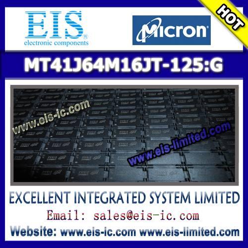 MT41J64M16JT-125:G - MICRON - DDR3 SDRAM MT41J256M4 - 32 Meg x 4 x 8 banks MT41J128M8 - 16