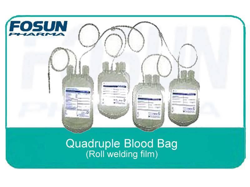 Quadruple blood bags