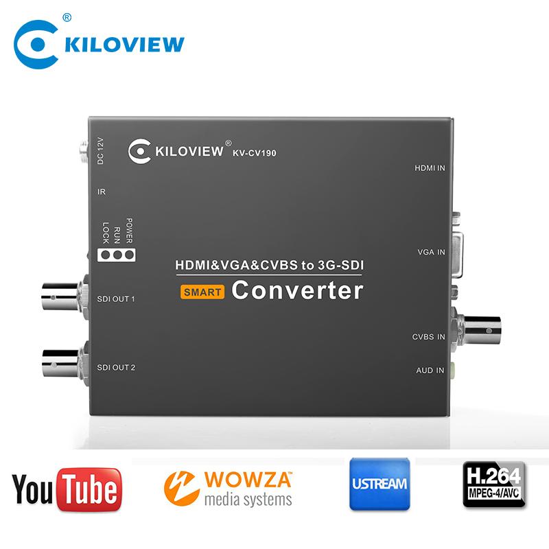 Video Transmitter HDMI VGA AV to HD SD SDI 1080P 1080i Audio Video Converter