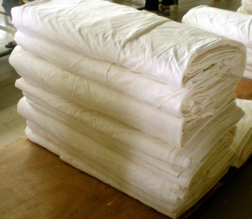 100% Polyester Grey Fabric,Carded Plain Fabric,45*45