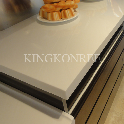 modified acrylic solid surface kitchen bench top