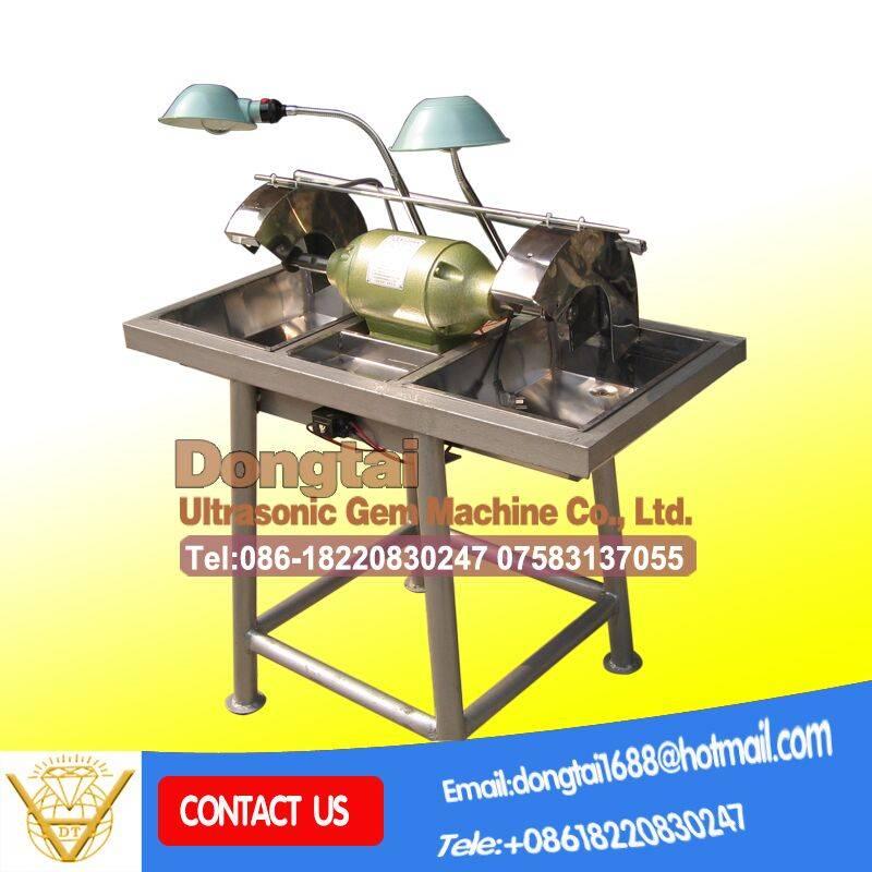 Dual end gem machine agate equipment