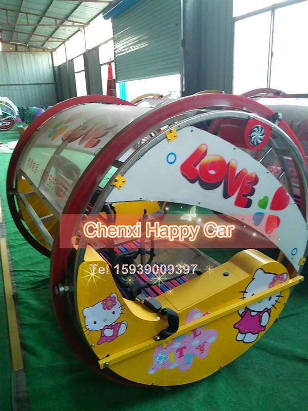 2 People Self-balanced Electric Happy Swing Ride for Amusement Park