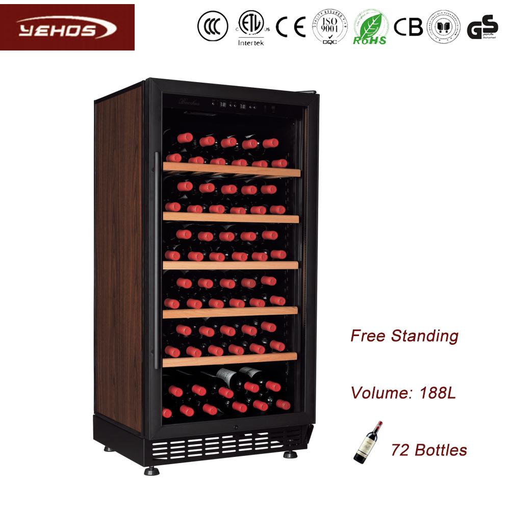 Yehos 72 bottles wine cabinet wine refrigerators