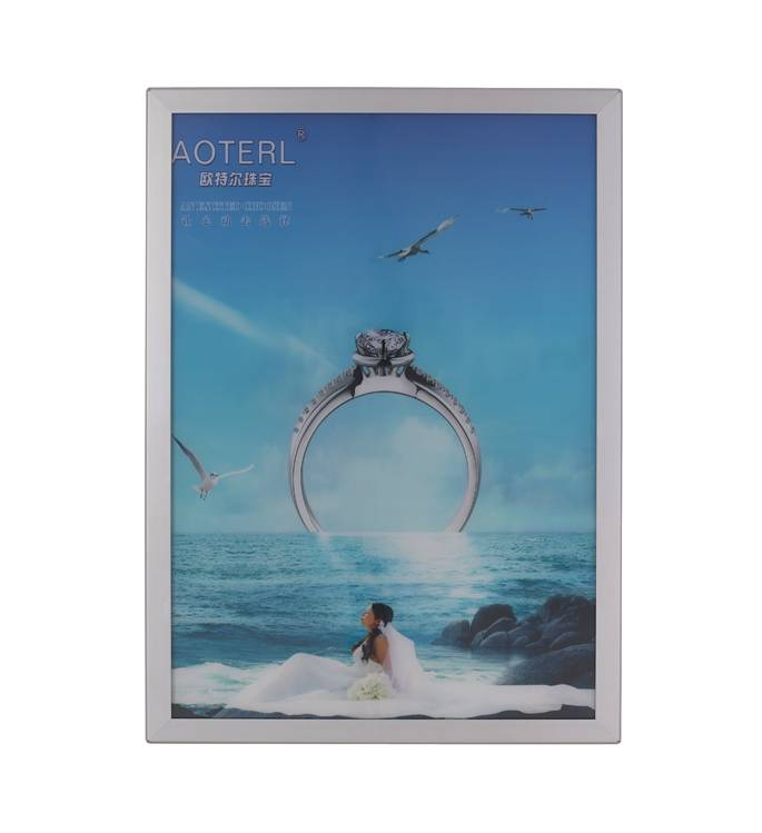led aluminium snap frame led light box with good quality and price USD25
