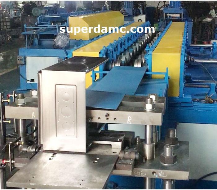Automatic power distribution box production line