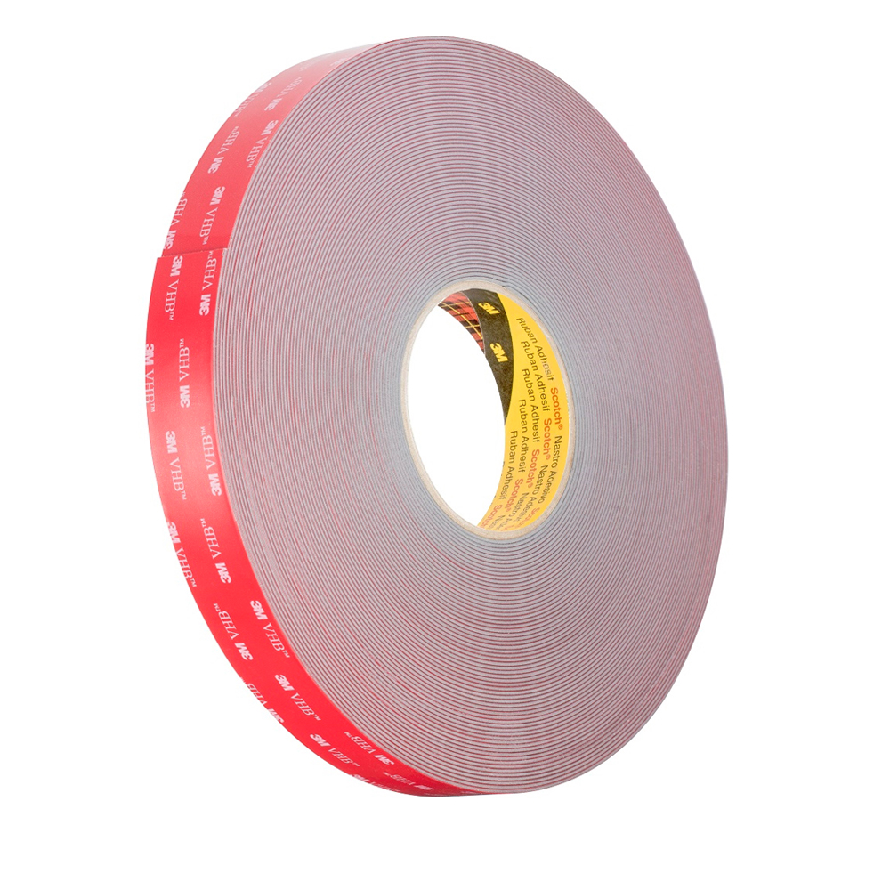 3m double sided solvent Acrylic foam adhesive tape