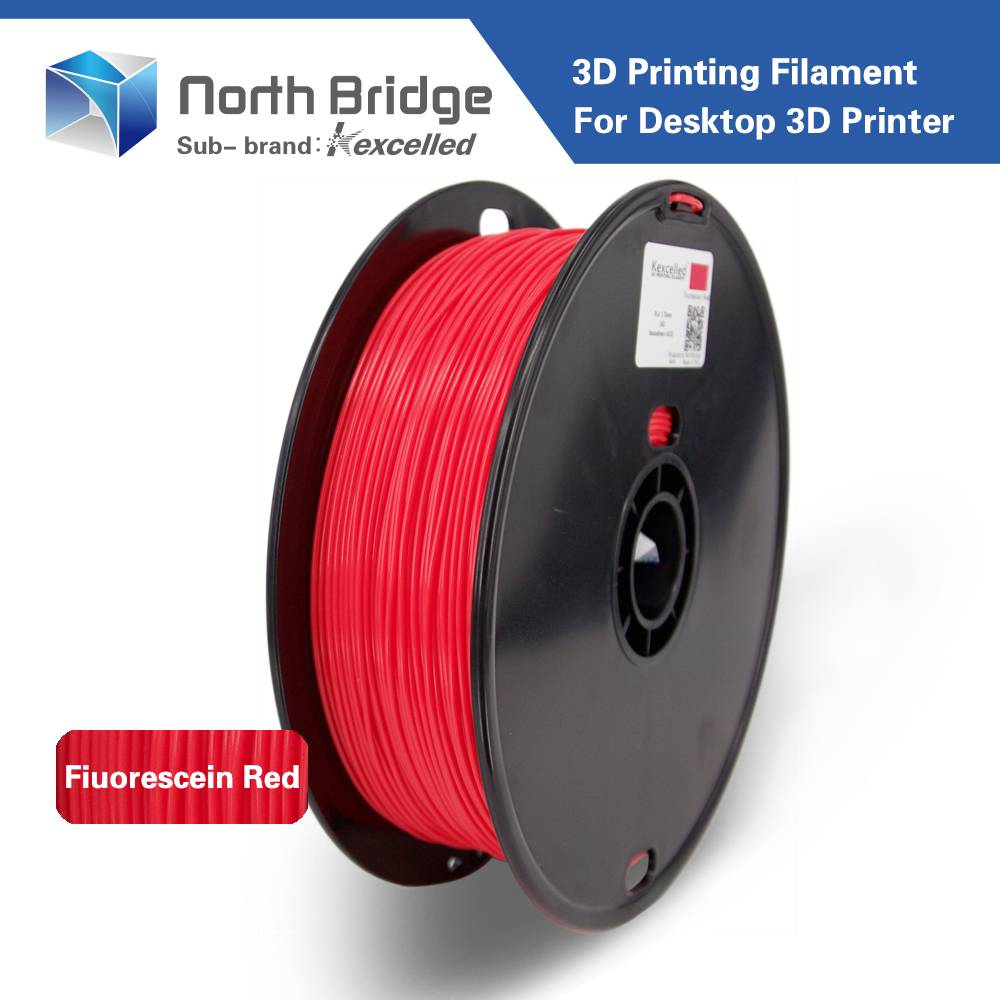 Kexcelled high quality 1.75mm 3.0mm PLA 3D Printer Filament