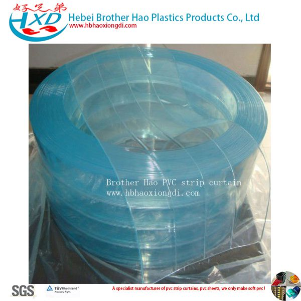 Food Grade Low Temperature Polar Vinyl Plastic PVC Strip Curtain Rolls