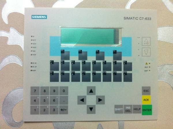 Membran keypad for C7-633 REPAIR
