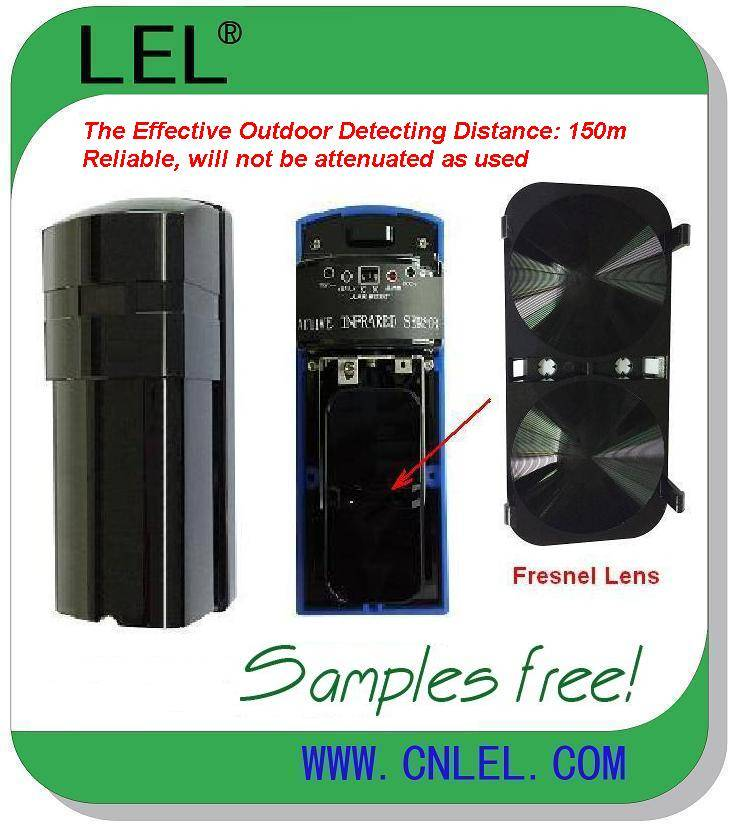 LBD-150   Long Distance CE Approved Waterproof Digital Active Infrared Beam Detector