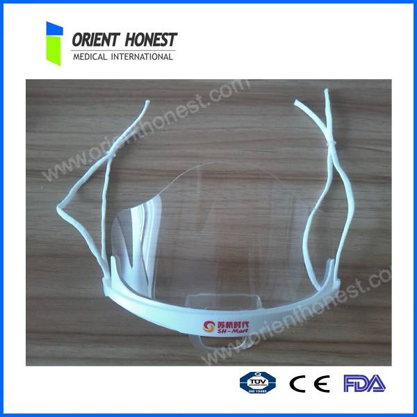 Transparent medical silicon mask