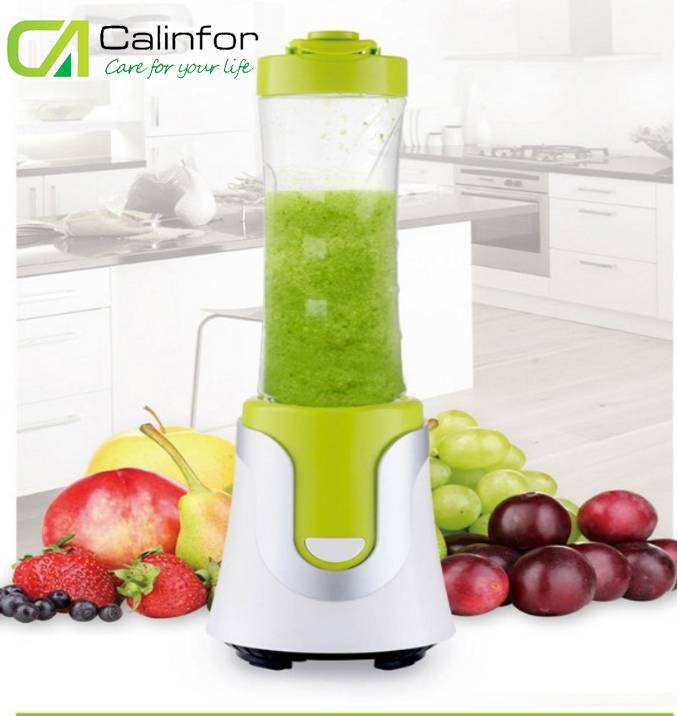 portable ABS plastic custom green stainless steel blades shake n take best juicer travel blender